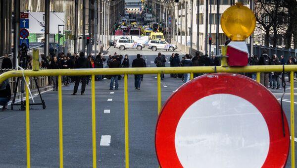 Situación en Bruselas - Sputnik Mundo