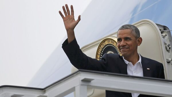 Presidente Obama termina su visita a Cuba - Sputnik Mundo