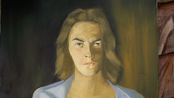 Trasey Emin, fragmento del retrato por Reginald Gray - Sputnik Mundo