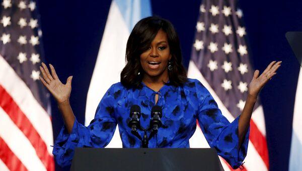 Michelle Obama, la primera dama de EEUU - Sputnik Mundo
