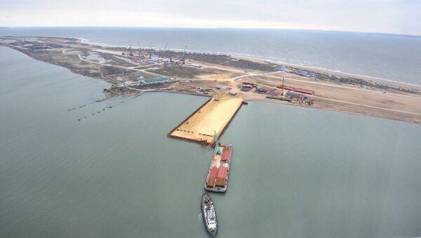 Construcción del puente sobre el estrecho de Kerch - Sputnik Mundo