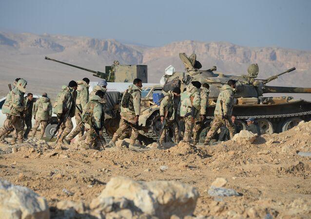 Militares sirios