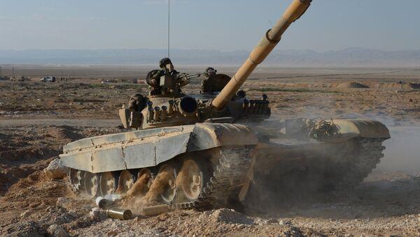 Tanque sirio (imagen referencial) - Sputnik Mundo