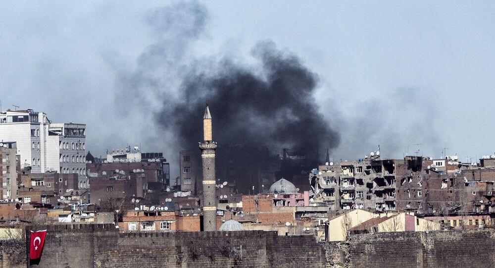 Enfrentamientos entre los kurdos y las fuerzas turcas