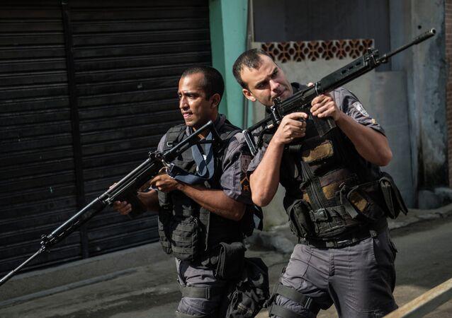 Policías de Brasil