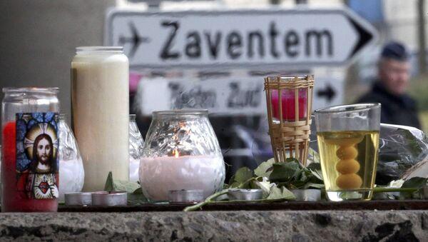 Homenaje a las víctimas de los atentados en Bruselas - Sputnik Mundo