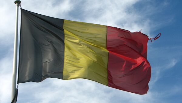 La bandera nacional de Bélgica - Sputnik Mundo
