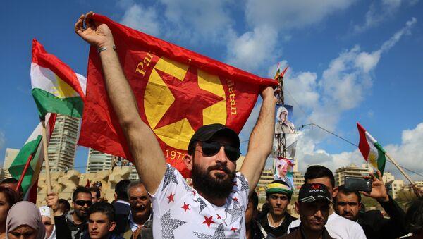 Kurdos sirios (imagen referencial) - Sputnik Mundo