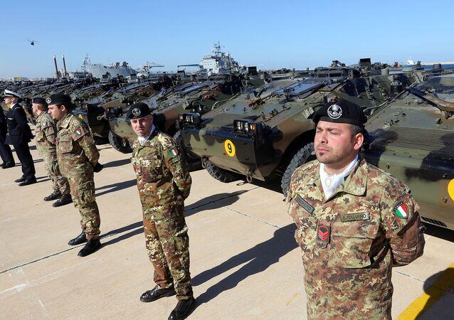 Soldados italianos