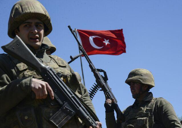 Militares turcos (imagen referencial)