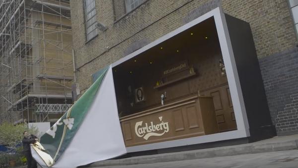 Un bar hecho de chocolate en Londres - Sputnik Mundo