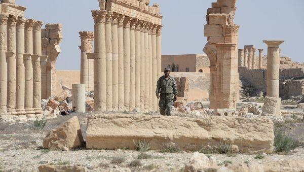 La ciudad antigua de Palmira - Sputnik Mundo