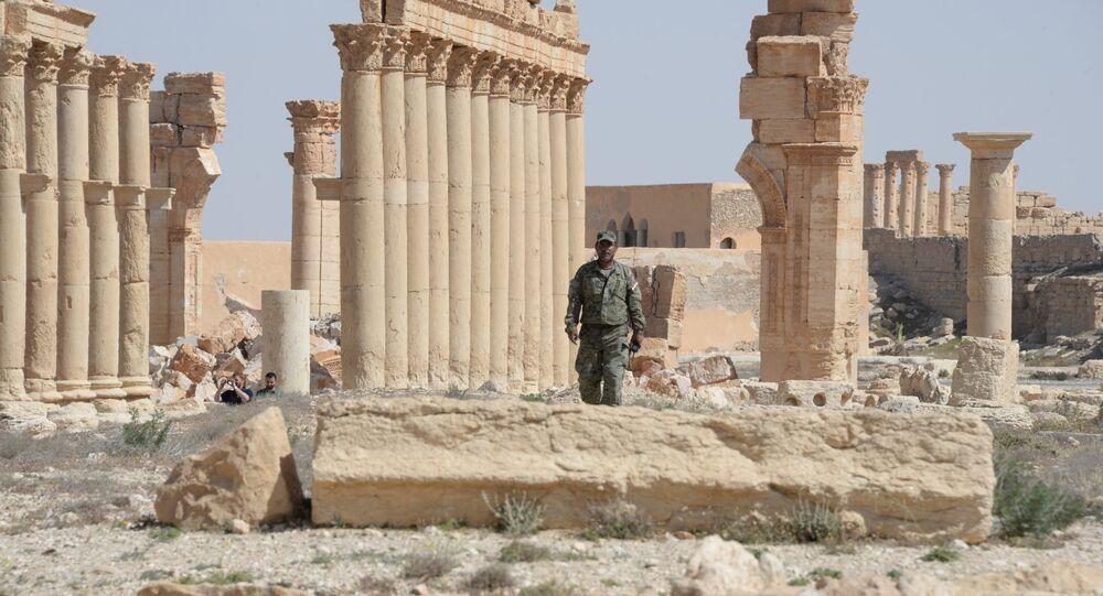 La ciudad antigua de Palmira