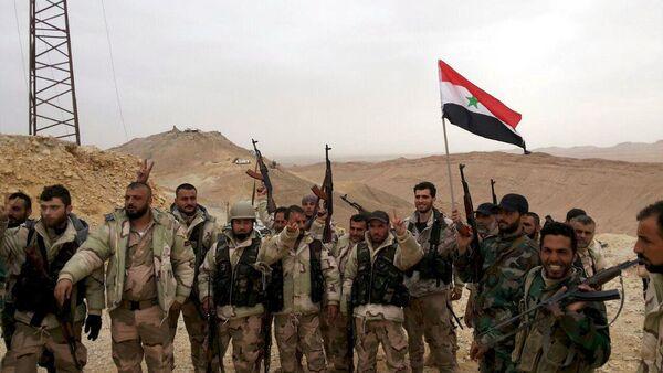 Ejército sirio en Palmira - Sputnik Mundo