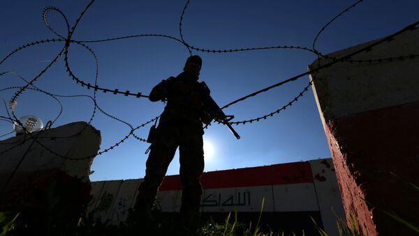 Militar iraquí (Archivo) - Sputnik Mundo