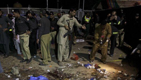 Atentado en Lahore, Pakistán - Sputnik Mundo