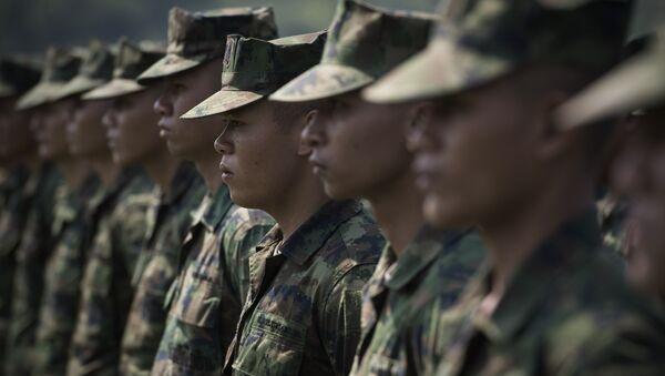 Soldados tailandeses (archivo) - Sputnik Mundo