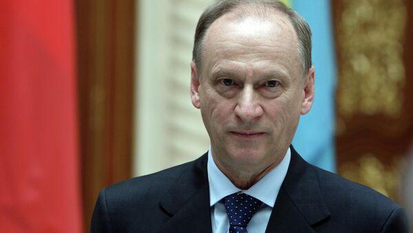 Nikolái Pátrushev, el secretario del Consejo de Seguridad de Rusia - Sputnik Mundo