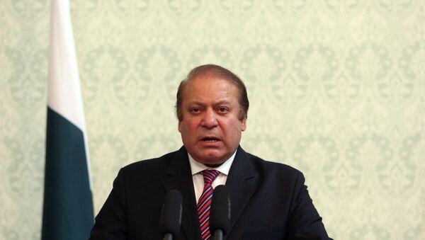 Nawaz Sharif, primer ministro de Pakistán - Sputnik Mundo