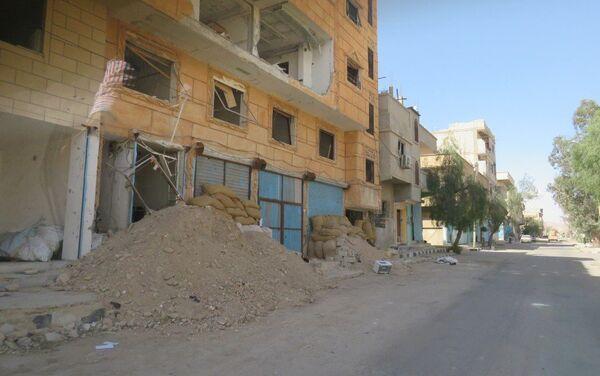 Palmira liberada de los yihadistas, que tenían el control de la histórica ciudad desde hacía un año - Sputnik Mundo