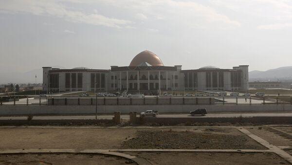 Edificio del Parlamento de Afganistán en Kabul - Sputnik Mundo