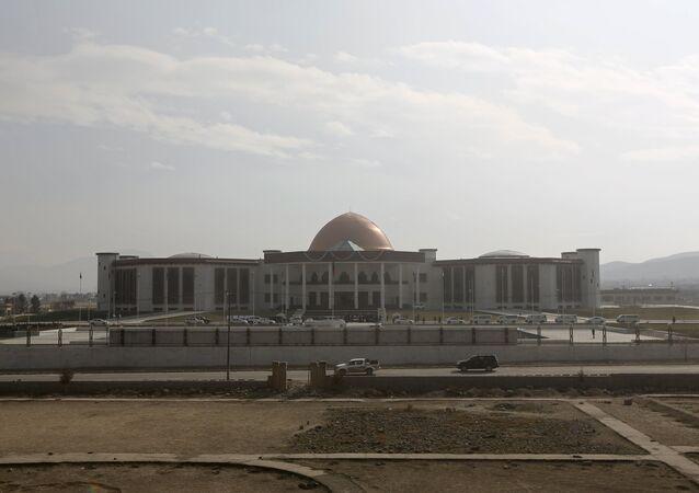 Edificio del Parlamento de Afganistán en Kabul