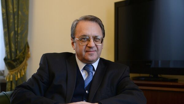 Mijaíl Bogdánov, viceministro ruso de Exteriores  - Sputnik Mundo