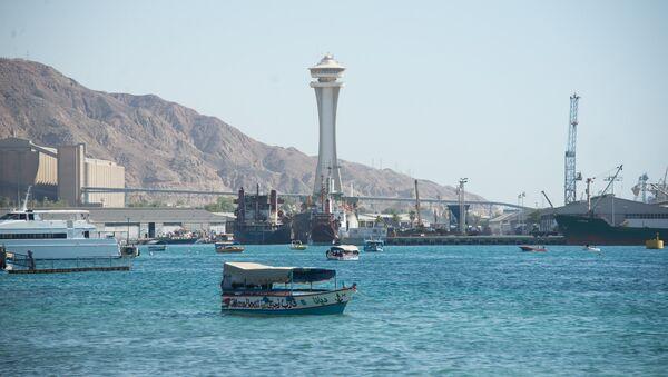 Puerto de Áqaba, Jordania - Sputnik Mundo