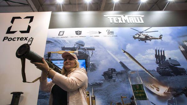 Mostrador de Techmash en una exposición (archivo) - Sputnik Mundo