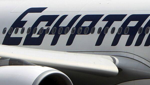 Un avión de la compañía EgyptAir (archivo) - Sputnik Mundo