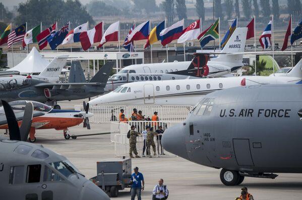 Apertura del Feria Internacional del Aire y del Espacio en Santiago de Chile - Sputnik Mundo