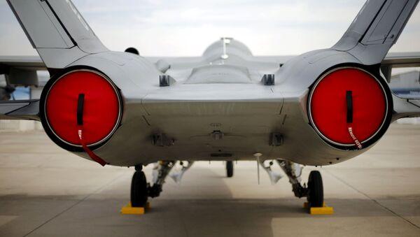 Истребитель на выставке FIDAE в Сантьяго - Sputnik Mundo