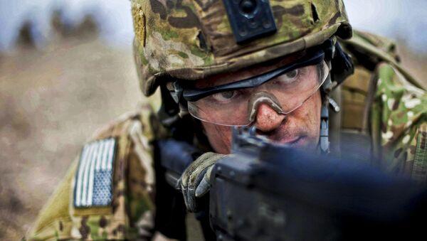 Militar estadounidense en Afganistán - Sputnik Mundo