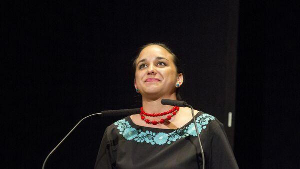 Gabriela Rivadeneira, presidenta de la Asamblea Nacional de Ecuador - Sputnik Mundo