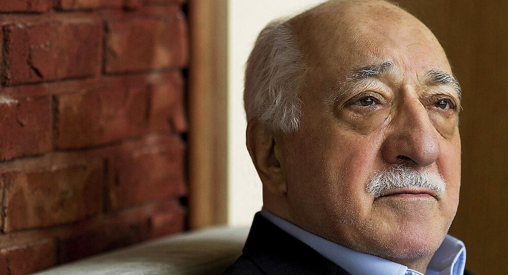 Turkish Islamic preacher Fethullah Gulen is pictured at his residence in Saylorsburg, Pa