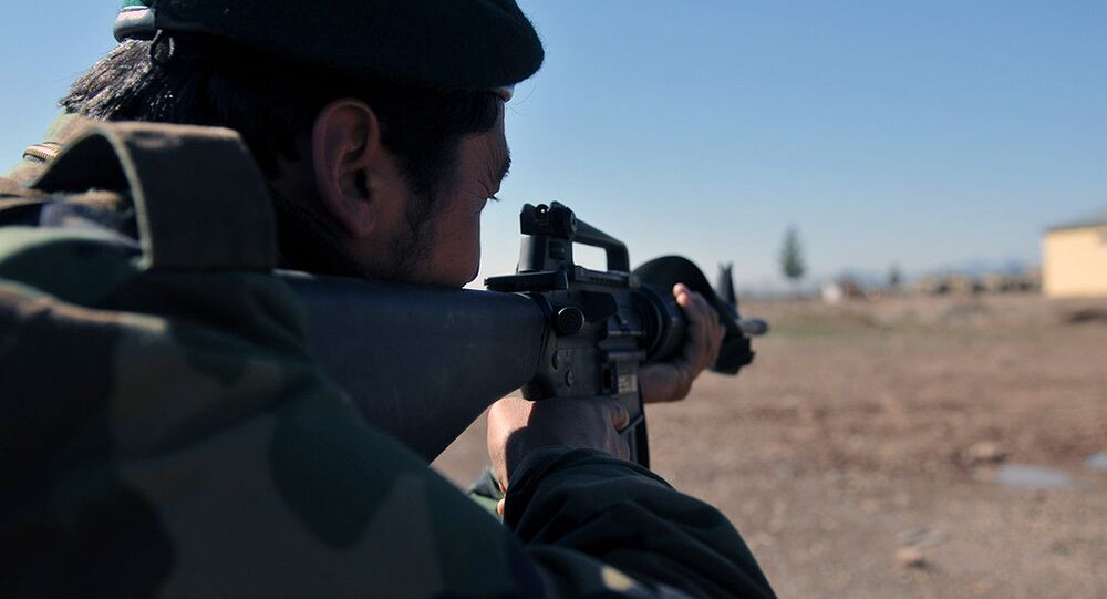 Un militante de Daesh