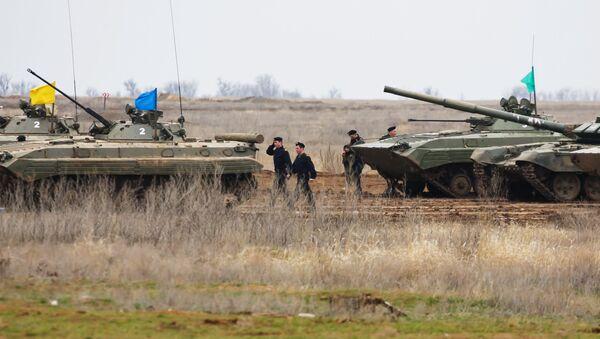 Militares rusos en la región de Volgogrado - Sputnik Mundo