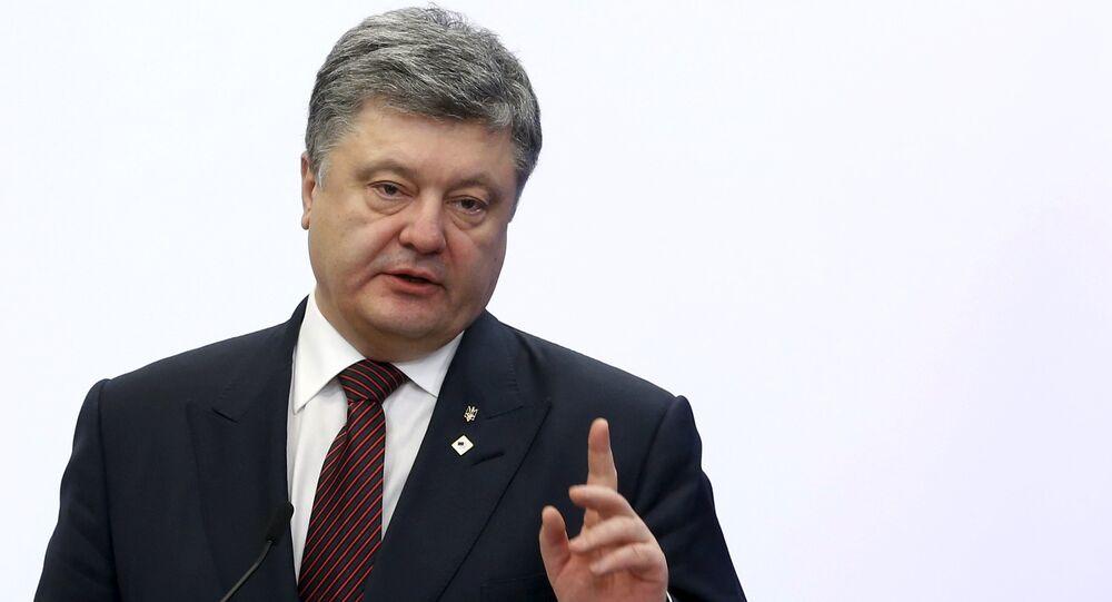 Petró Poroshenko, el mandatario ucraniano