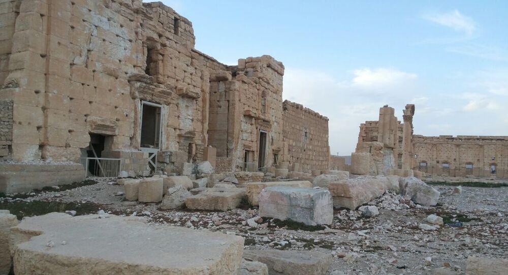 Ruinas en Palmira