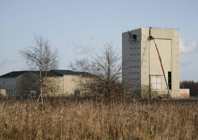 Edificio de la estación de radar Voronezh-DM