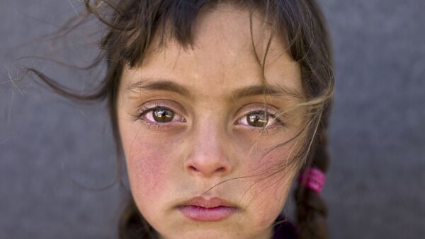 ¿Con qué sueñan los niños de los refugiados sirios? - Sputnik Mundo
