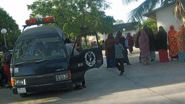 Policía de Mogadiscio, Somalia (archivo) - Sputnik Mundo