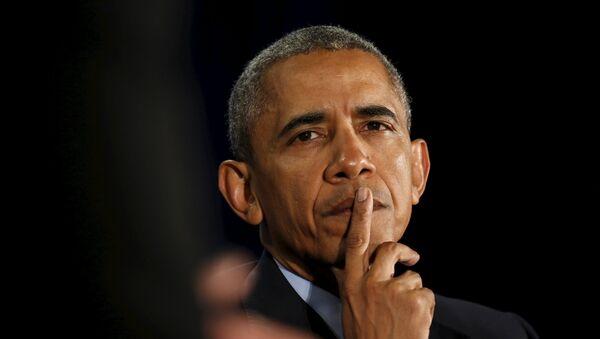 El presidente de EEUU Barack Obama - Sputnik Mundo
