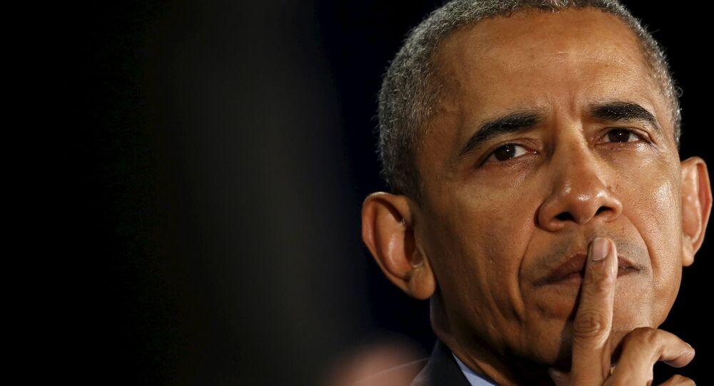 El presidente estadounidense Barack Hussein Obama