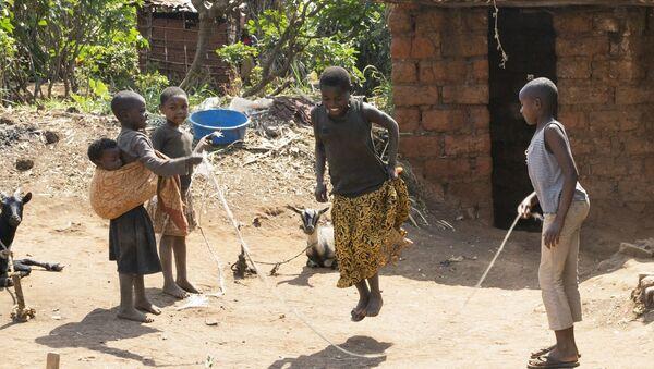 Niñas africanas - Sputnik Mundo