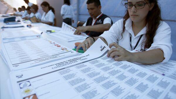 Elecciones en Perú - Sputnik Mundo