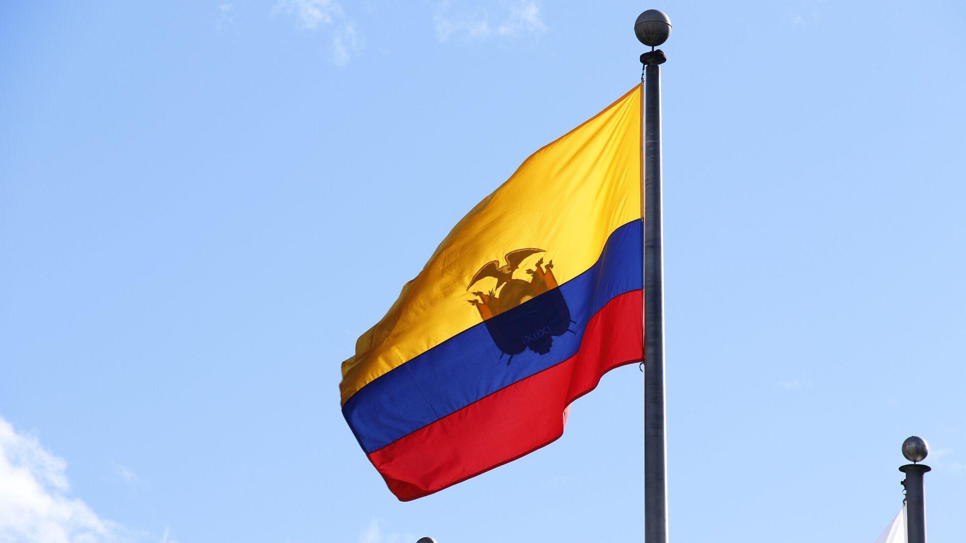 Bandera de Ecuador - Sputnik Mundo, 1920, 29.01.2021