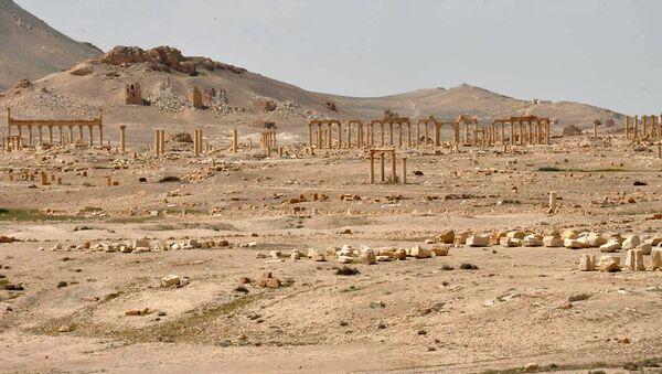 La ciudad de Palmira, Siria - Sputnik Mundo