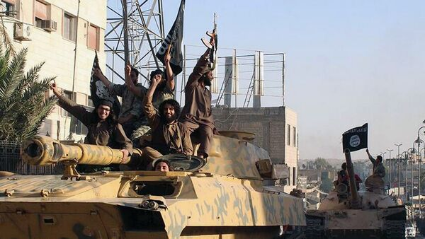 Los combatientes de Daesh - Sputnik Mundo