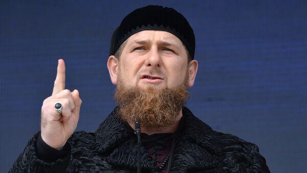 Ramzán Kadirov, jefe de la República rusa de Chechenia - Sputnik Mundo